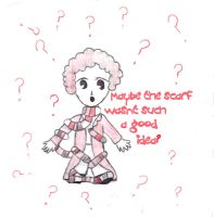 4th Doctor Chibi - Oops by loonylovegood93