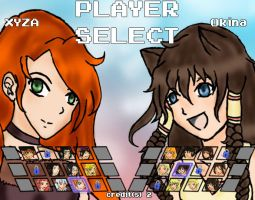 player select by dinoblood