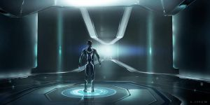 Tron New by Steve jung by Redenginestudios