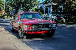1967 Ford Mustang GTA 390 by Kitteh-Pawz