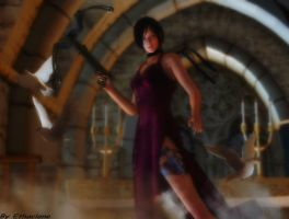 Resident evil wallpaper - Ada Wong by ethaclane