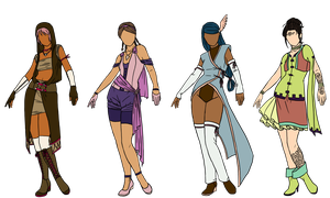 Archer designs by Owl-in-a-box