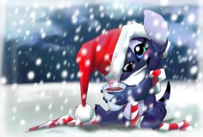 Merry Xmas friends by Renchee