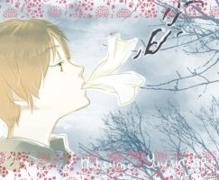 Natsume blowing by oKaShira2
