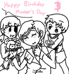 Yoshie's Birthday/Mothers Day by Kishinuma