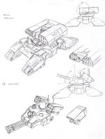 UC Tank MLRS and AA variants by TugoDoomER