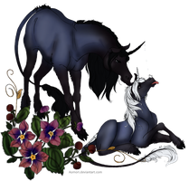 Huyana and Lothiriel by Channeling-Spirits