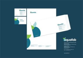 Aqoufob Corporate Identity by coldsweat555