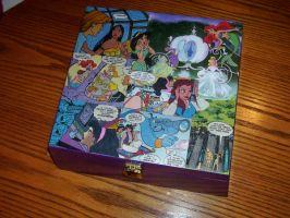 Disney Princess Keepsake Box 3 by UnderdogGirl