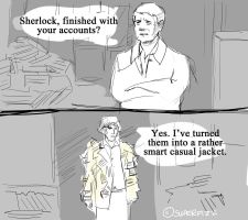 Sherlock/Black Books. by superfizz
