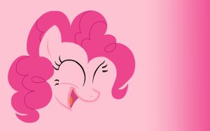 Pinkie Pie - Minimal Wallpaper by M00nlightMagic