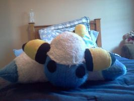 Mareep Pillow Forme by theamazingwrabbit