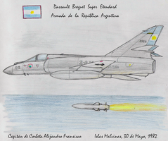 Super Etendard ARA 3-A-202 by PatchKatz