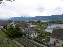 Rapperswil Switzerland by Agatje