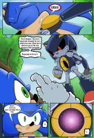 Sonic V Metal Sonic colours by AlkalineAzel