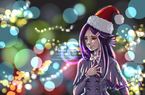 Have a Blue Christmas... by iWuzang-Fan