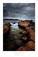 Avoca Beach Rocks by MattLauder
