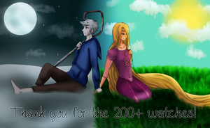 Thank You For 200+ Watches!!! by kawaiiwolves
