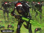 Merry Christmas + Happy Necron by GregorytheImpaler