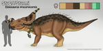 Sturmi the Einiosaurus Ref by SergeanTrooper