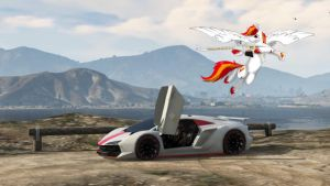 GTA 5 ONLINE Flying into battle by X-Flame-Dancer-X