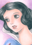 ACEO Snow White by Rooro22