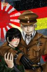 Axis Powers _ WWII Version by TyrineCarver