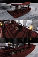 . : DL SERIES :. Chinese style boat by NightLightStar01
