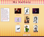 Ice Cream Parlor Gallery by nocturnenebula