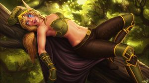 Alleria Windrunner by PersonalAmi