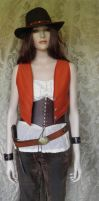 Bandidas inspired waistcoat PCW7-3 by JanuaryGuest