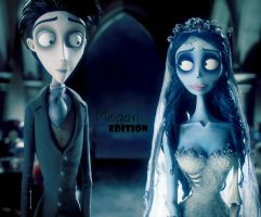The corpse bride by Megandreamer