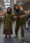 Planet of the Apes Cosplay Cornelius and Zora by masimage