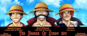 Art KSG and Diabolumberto The Bearer Of Straw Hat by kenseigoku