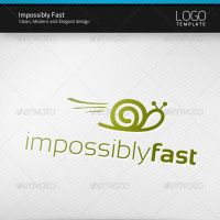 Impossibly Fast Logo by artnook