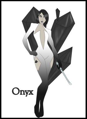 [COMMISSION] Gemsona - Onyx by GabrielleDace
