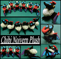 6x Chibi Noivern Plushies by MegasArtsAndCrafts