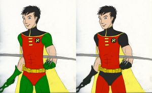 robin wip color options by DeeDraws