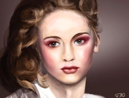Female Face Study 2 by FelFortune