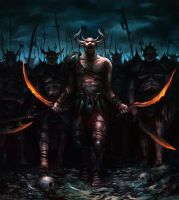 Demon Army by Vablo