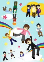 Super Junior Vectors Completed by Sashimitachi