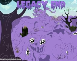 Legacy End - Fanfic cover by Sayer09
