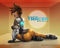 Tracer - Pinup by Felox08