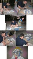 Chalk drawing photos by RyanOttley