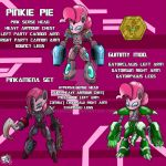 Medabot Pinkie Pie by Sanyo2100