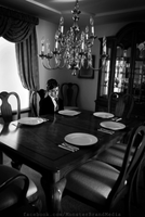 Dining alone by MonsterBrand