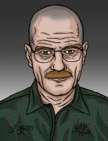 Breaking Bad - Walter White by bratchny