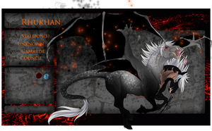 WTW | Dark | Council | Rhukhan by TheMonsterChick