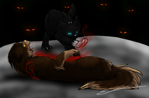 The End of Tigerstar by Feline-Basilisk