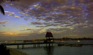 Ending It At The Harbor by C-ShuHui